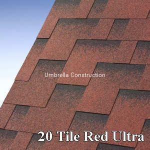 IKO Skyline kolor 20 (Tile Red Ultra)